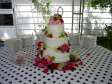90th Birthday cake flowers